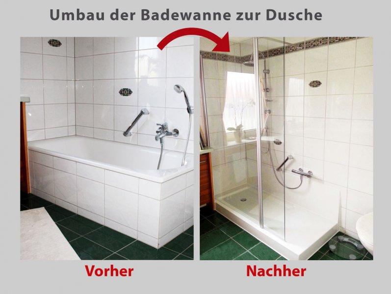 wanne zur dusche in nur 8 stunden badbarrierefrei m nchen. Black Bedroom Furniture Sets. Home Design Ideas